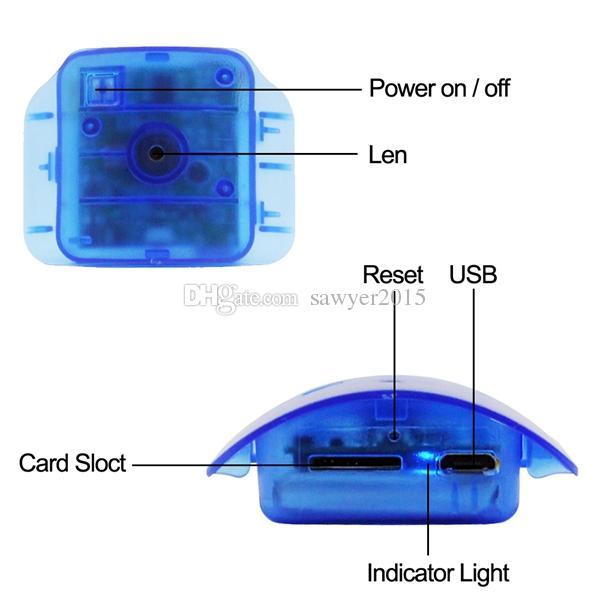 كشف الحركة زجاجة المياه ثقب الكاميرا DVR HD 1080P المحمولة البسيطة كاميرا زجاجة ماء الكاميرا الرئيسية مكتب الأمن مربية كام الأزرق