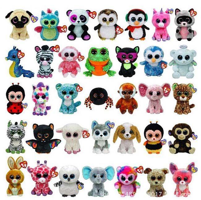 2018 Beanie Boos For Free Plush Stuffed Toys Teddy Bears Wholesale