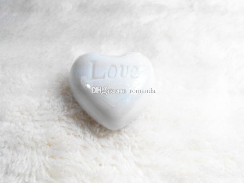 Venta al por mayor artística perfumada corazón amor jabones para boda favores regalo ducha de bebé jabón decorativo mano jabones DHL envío gratis