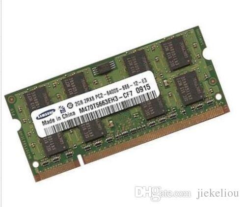 2GB DDR2 800MHz RAM 4GB 2Rx2-6400 CL6 SODIMM 200-Pin Notebook Memory for Mini 5102 4411S 6515 CQ41 Compaq 520 510 V3000 V3009 cq20 cq35