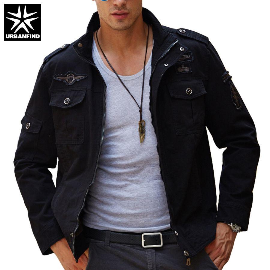 Wholesale Men Casual Coats Man Tactical Jackets Fit Spring Autumn