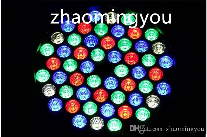 DMX Led Par 54W RGBW LED Par Light Wash Dimmerazione luci a effetto stroboscopico discoteca DJ Party Show