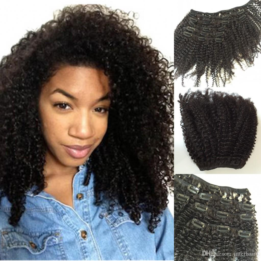 100 Human Remy Clip In Indian Hair Extensions Layers Clip On