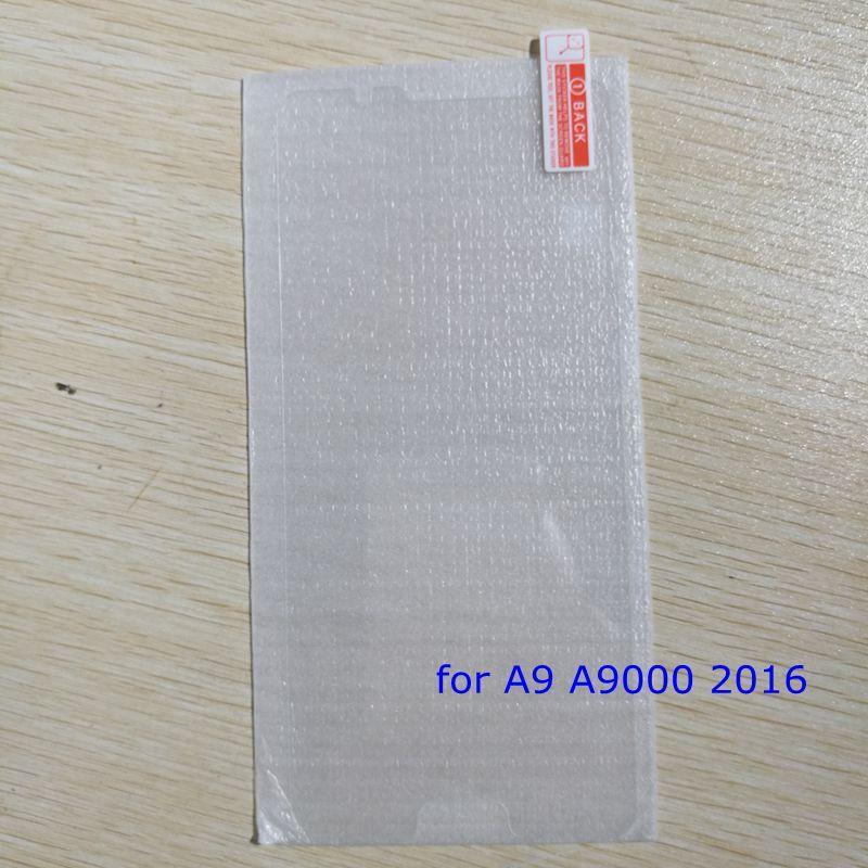 100 stücke gehärtetes glas displayschutzfolie für samsung galaxy a9 a9000 2016 a9 pro c5 c5000 c7 c7000 schutzfolie
