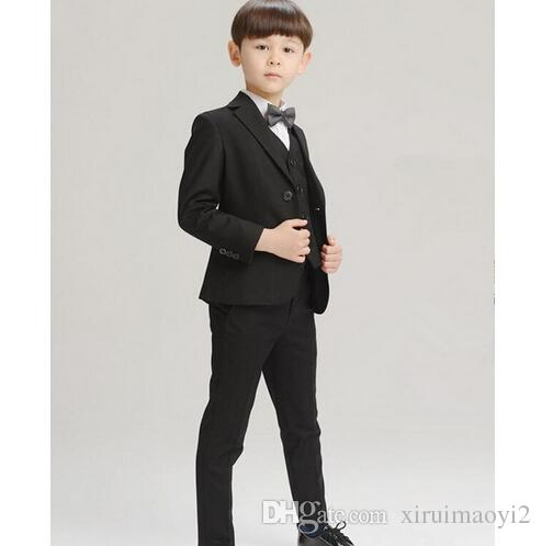 9ef3a6128d7 High Quality New Arrival Fashion Baby Boys Kids Blazers Boy Suit For  Weddings Prom Formal Dress Wedding Boy Suits Baptism Outfit Boy Boy Dress  Clothes From ...