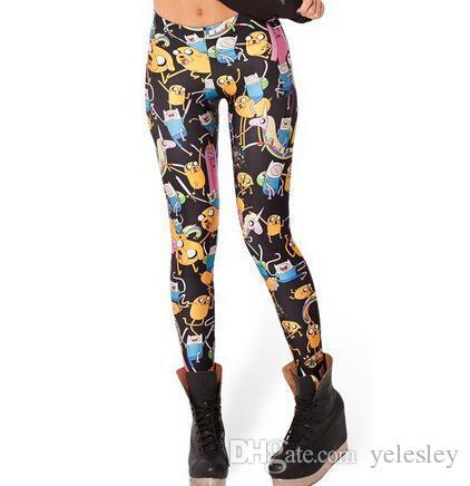 Women Leggings Black Milk Microfiber Soft Touching Spandex Flower Leopard Stars Printed Leggings Spring Summer Autumn 24 Styles
