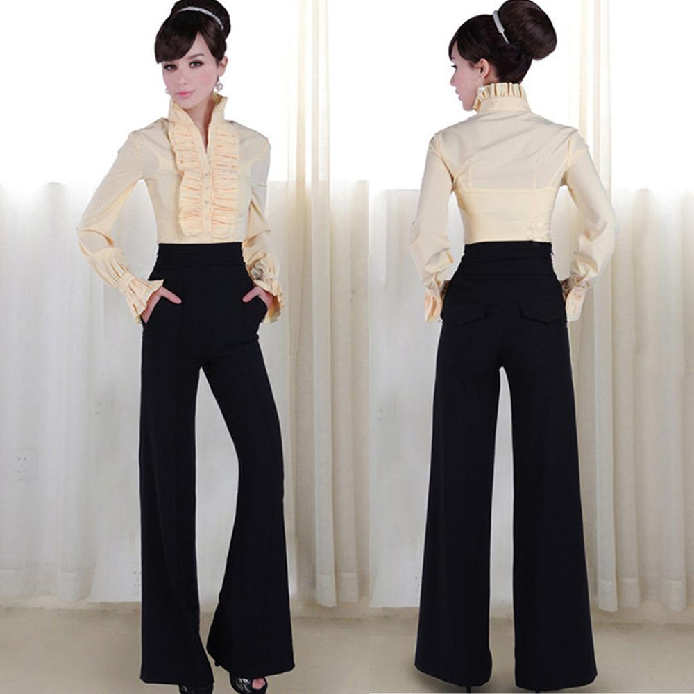 best quality vintage office loose women pants trousers. Black Bedroom Furniture Sets. Home Design Ideas