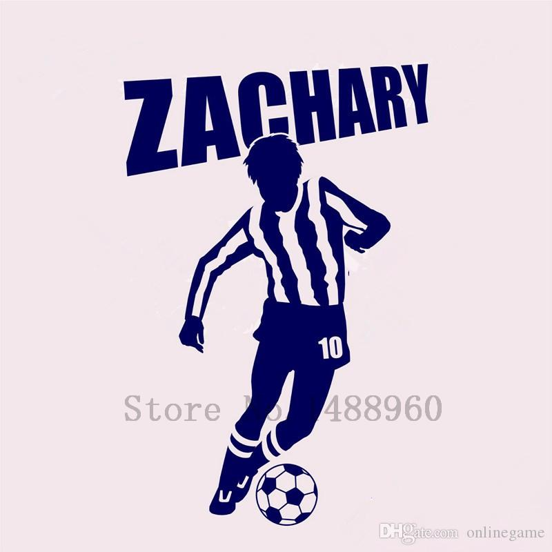 Wall Stickers Home decor DIY poster Decal mural Vinyl Wall Decal Decoration Soccer Player 56*81 cm