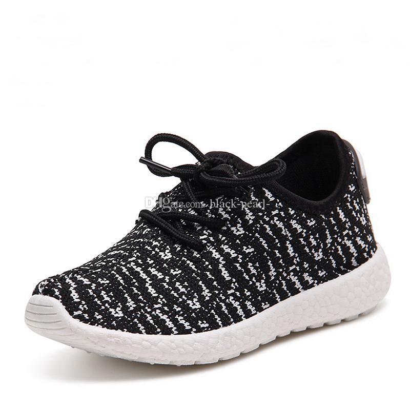 Hot Sale Children Shoes Boys Sport Lace-up Fashion Shoes Girls ... 87b23e93b66d5