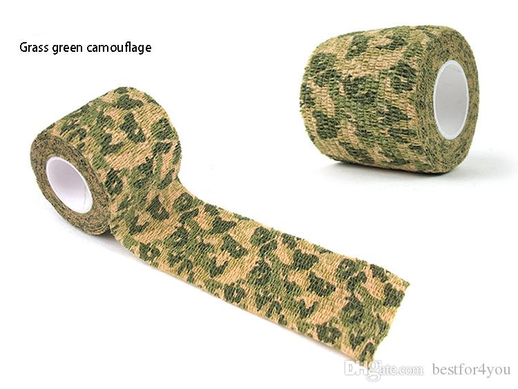5cmx4.5m Outdoor Shooting Hunting Camera Tools Waterproof Wrap Durable Cloth Army Camouflage Tape Hunting Accessories