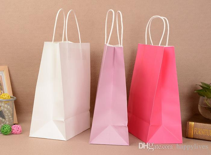 Gift Paper Bag Paper Party Loot Bags Birthday Christmas Colour Gift Treat Sweet Candy Bag Paper Shopping Bags Paper Gift Bags