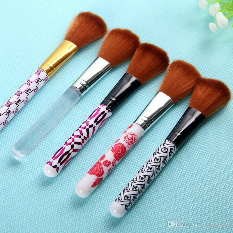 Makeup Brushes Blusher 5 colors Brush for women Cosmetic beauty gift Beauty makeup tools Free DHL Fedex UPS