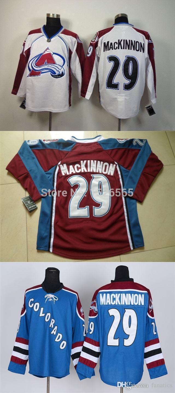 buy popular 639c0 dddcc adidas colorado avalanche 29 nathan mackinnon burgundy home ...