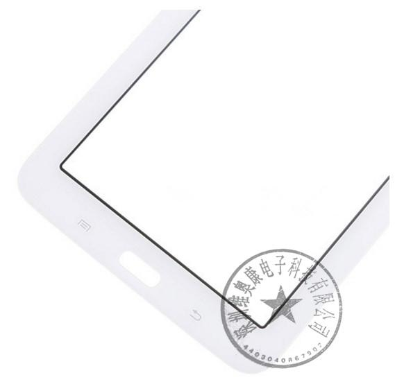 Touchscreen Digitizer Glass Panel Front Glass Lens Sensor Samsung T110 T113 T115 Galaxy Tab 3 Lite 7.0 con logo