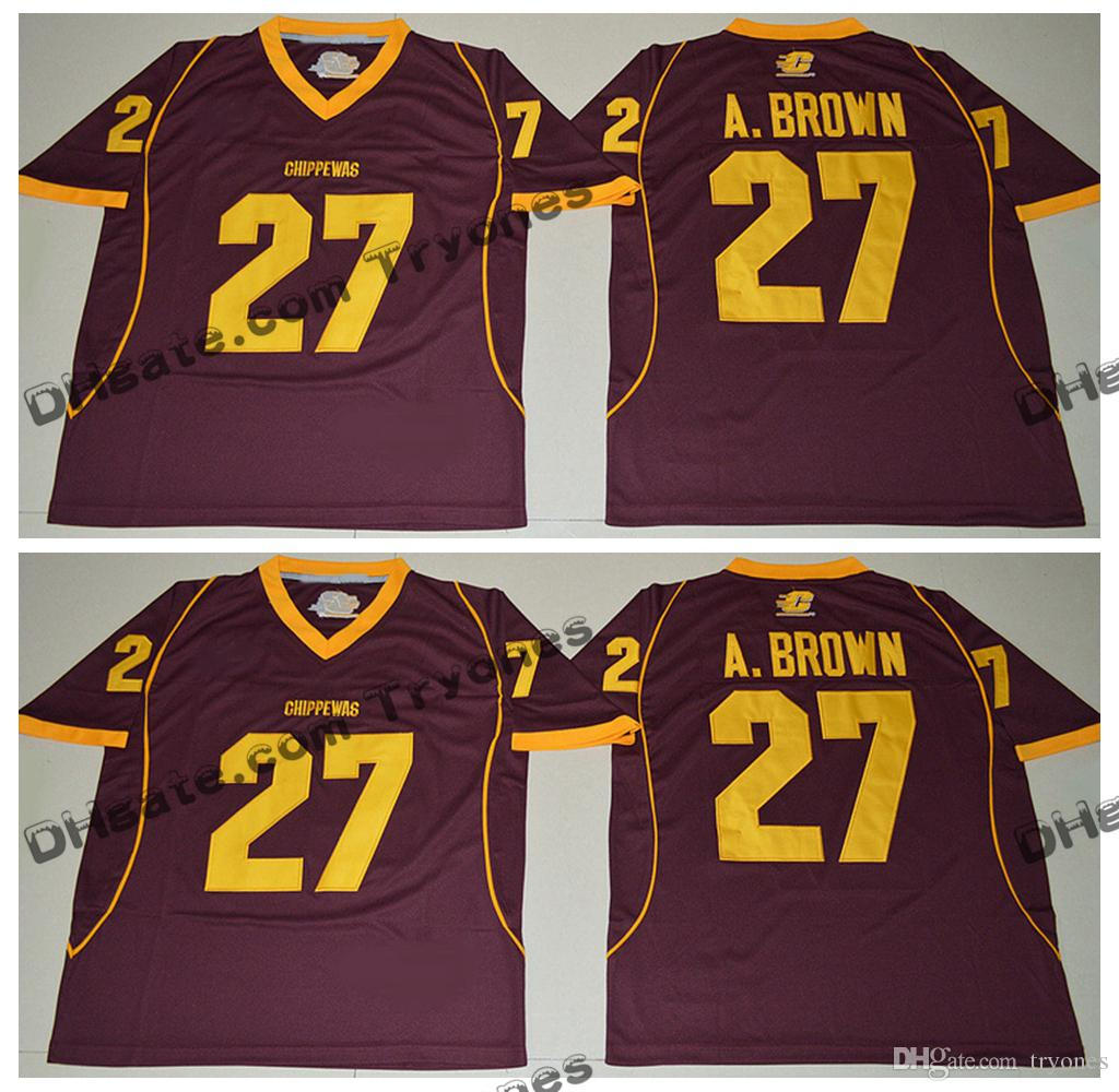 antonio brown central michigan jersey