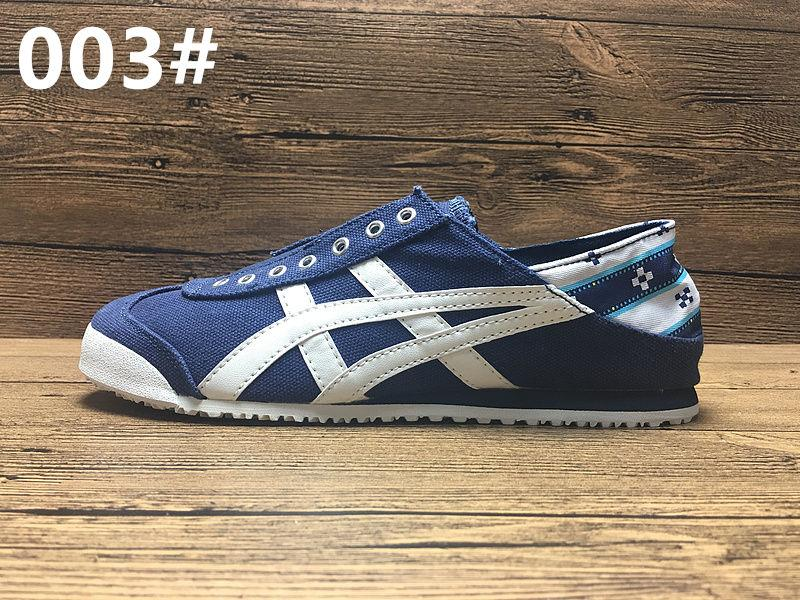New Colors Asics Tiger Canvas Shoes Running Shoes Mens And Womens Comfortable Athletic Outdoor Sport Sneakers Eur 36-44 With Box