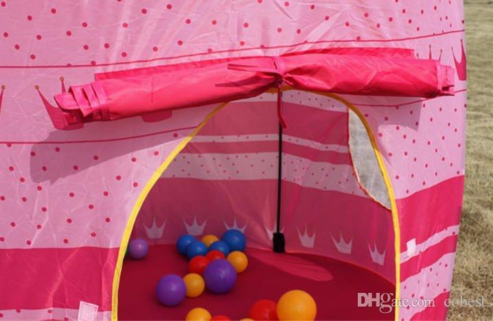 Crianças Tendas Tenda Príncipe e Princesa Palácio Castelo de Brinquedo Do Bebê Casa Tenda Casa de Jogo
