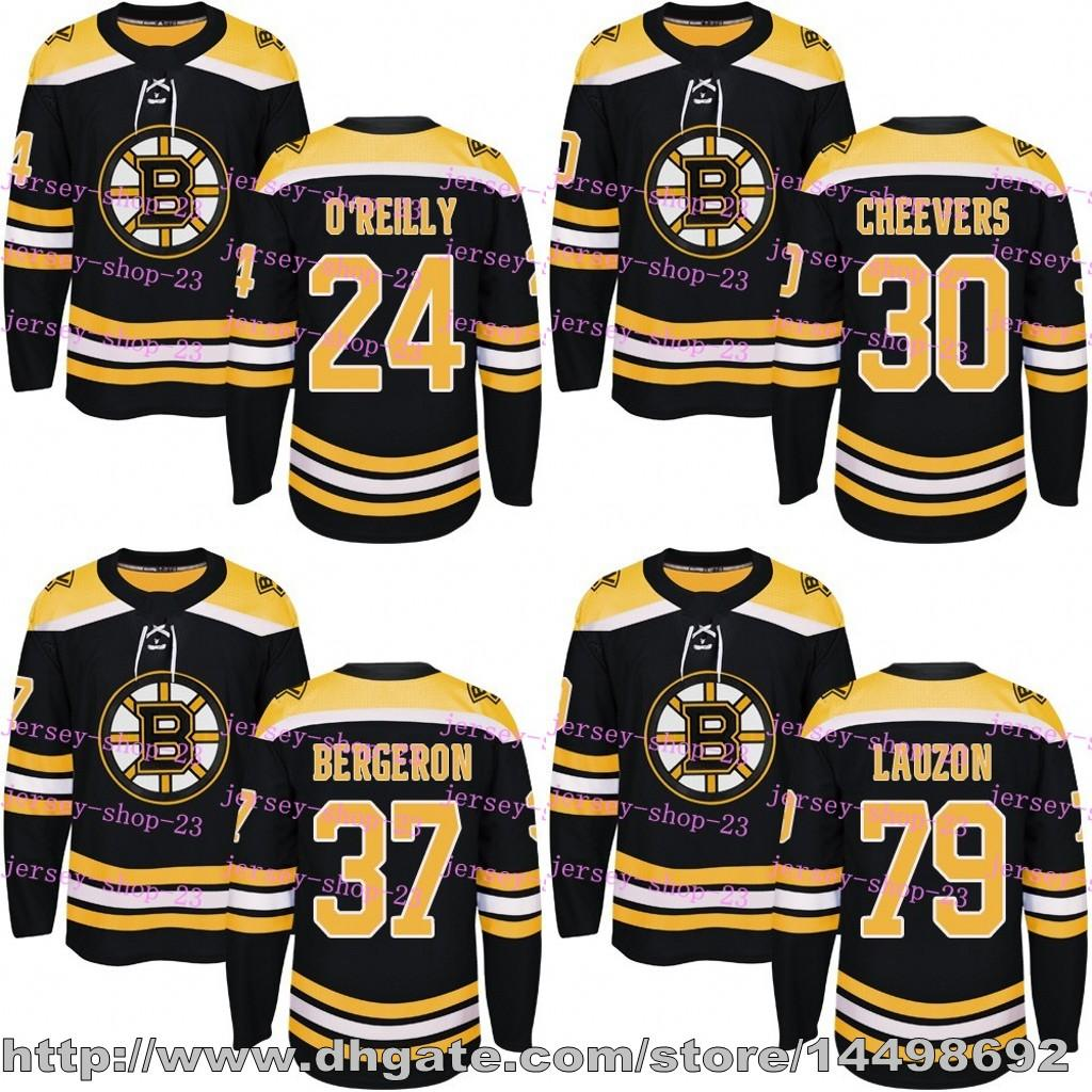 2018 Customized Mens Womens Kids 2017 2018 New Logo Boston Bruins 24 Terry  O Reilly 30 Gerry Cheevers Patrice Bergeron 79 Lauzon Hockey Jerseys From  Jersey ... 0a0742dce
