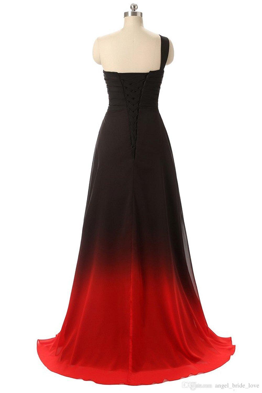 2017 Yeni Zarif Siyah Mavi Degrade Gelinlik Modelleri Boncuk Aplikler Kat-Uzunluk Parti Elbiseler Örgün Törenlerinde Vestido De Festa QS1088