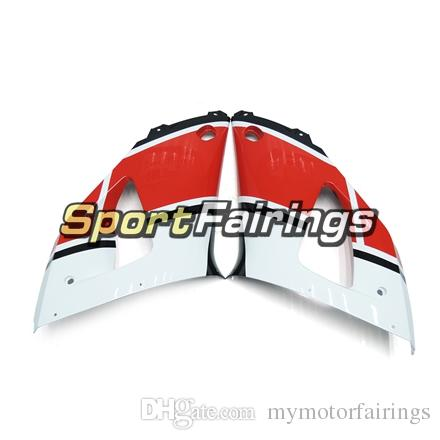 Santander Red White Black ABS Injection Fairings For Yamaha YZF1000 R1 YZF-R1 00 01 2000 2001 Plastics Motorcycle R1 Fairing Kit