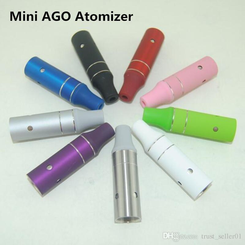 2016 Hot Mini AGO G5 Réservoir vape Vaporisateur À Herb Atomiseur Sec AGO g5 Clearomizer Fit Cigarettes Électroniques eGo EVOD Batteries Coloré DHL