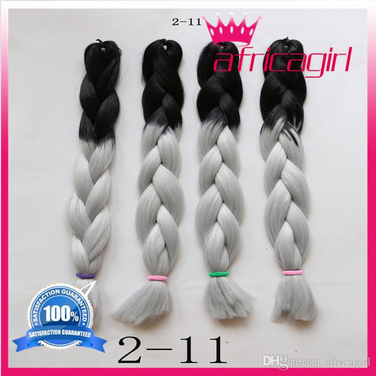 Wholesale cheap ombre two tone weave hair in braid kanekalon wholesale cheap ombre two tone weave hair in braid kanekalon braiding hair queen hair products synthetic hair extension marley twist jumbo braid bulk pmusecretfo Gallery