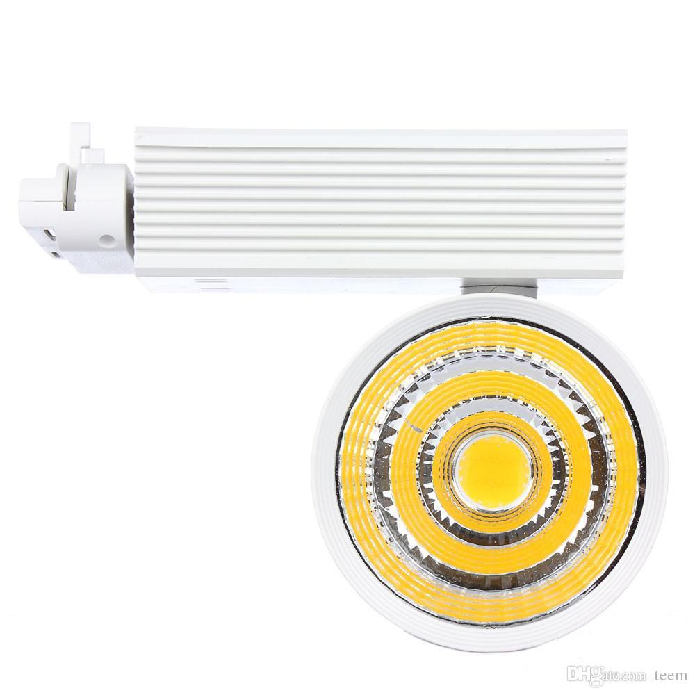CE RoHS luces LED Venta al por mayor 20W COB Led Track Luz de la lámpara de pared Soptlight Tracking led AC 85-265V Led iluminación Envío gratis 10