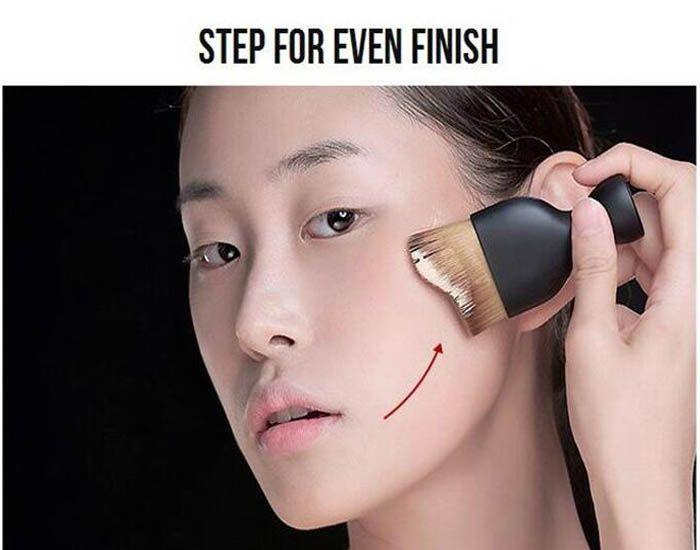 Бренд контур Фонд кисть S форма инструменты для макияжа крем макияж кисти рассыпчатая пудра кисти многофункциональный кисти DHL свободный корабль