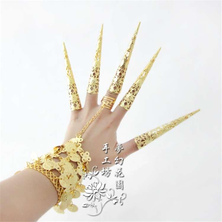 Indian Finger Bracelets line