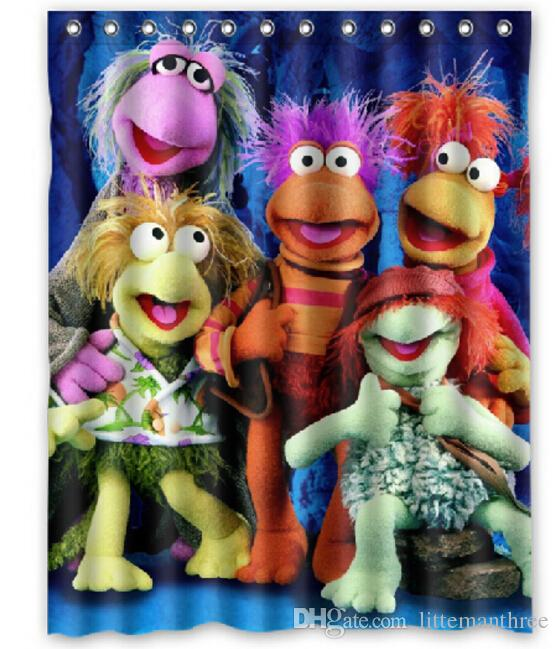 2019 Fraggle Rock Design Shower Curtain Size 140 X 180 Cm Custom Waterproof Polyester Fabric Bath Curtains From Littemanthree 2513