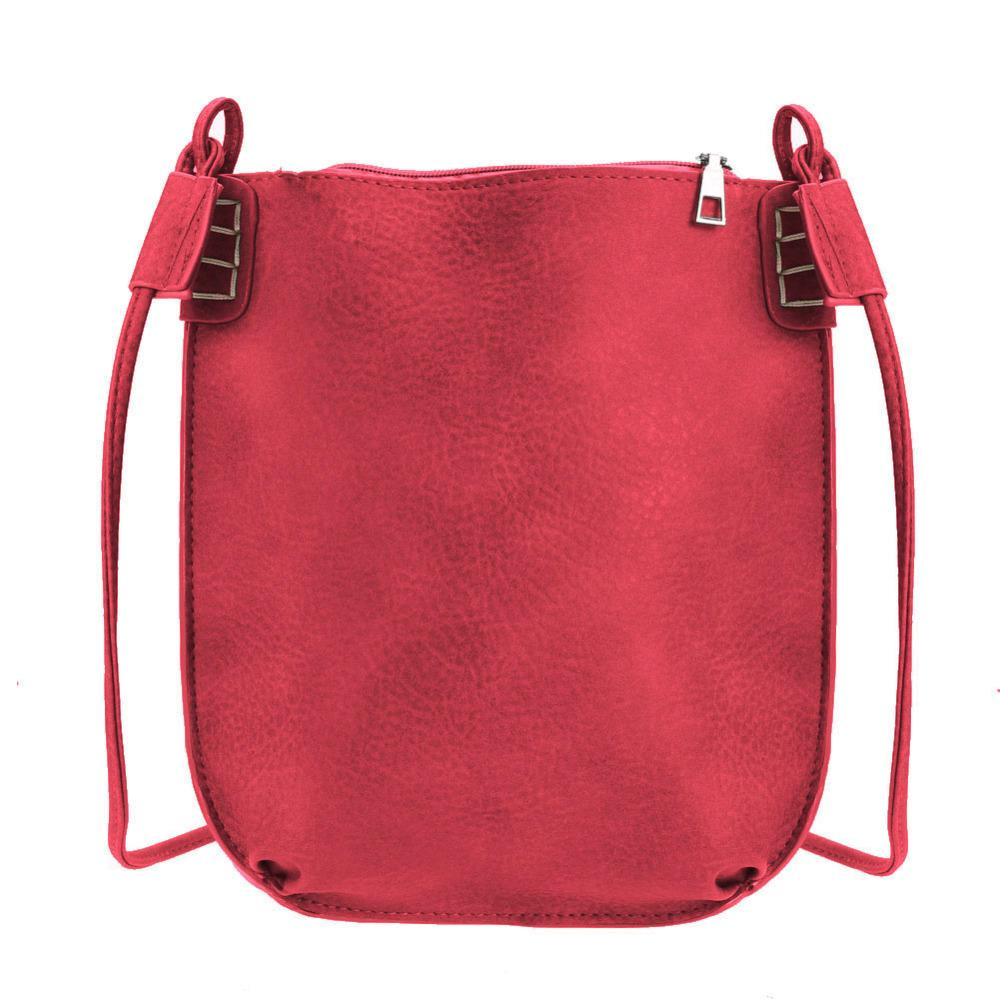 9b99ecfb66dc Wholesale- New Fashion Small Bags Women PU Leather Handbags Casual Shoulder  Crossbody Bags Lady s Messenger Bag Mini Bucket Bolsos Mujer Bucket Square  Bag ...