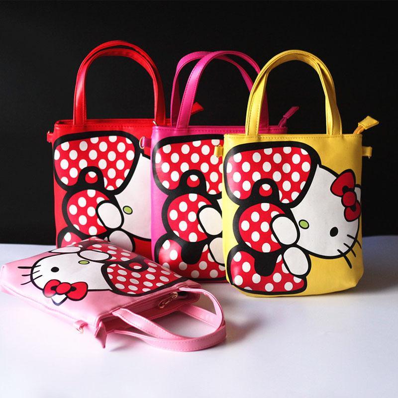 c20c179a9 Wholesale New 2016 Baby Girls Handbags High Quality Fashion Hello Kitty  Children Crossbody Bag Pu Leather Princess Totes Kids Bag Bolsas Designer Bags  Hobo ...