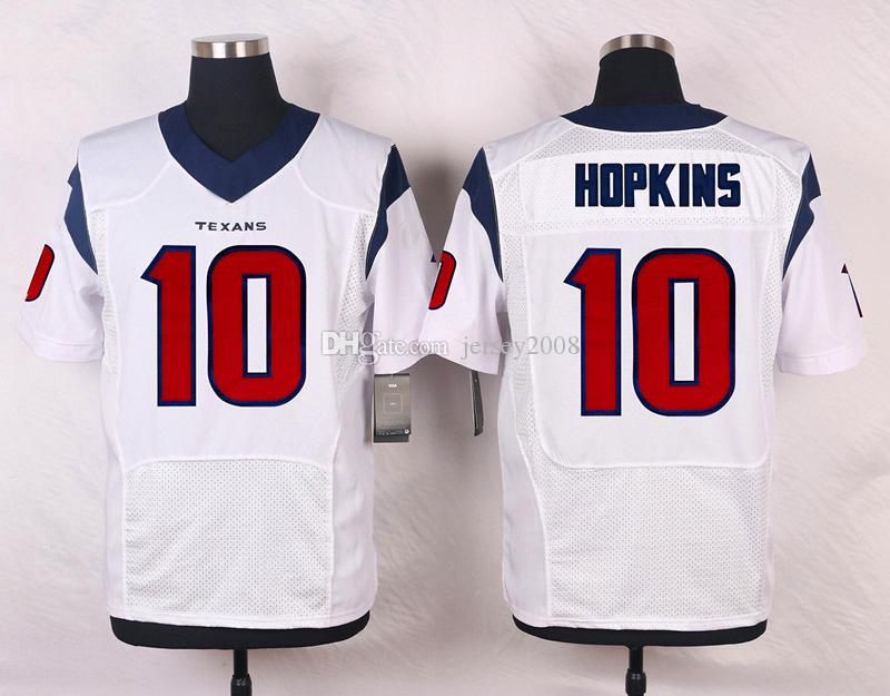8b4db7a1e13 ... MenS Ht 10 Deandre Hopkins White Red Blue Football Jerseys Good Mens  Limited DeAndre Hopkins Black Jersey USA Flag Fashion 10 NFL Houston Texans  Nike ...