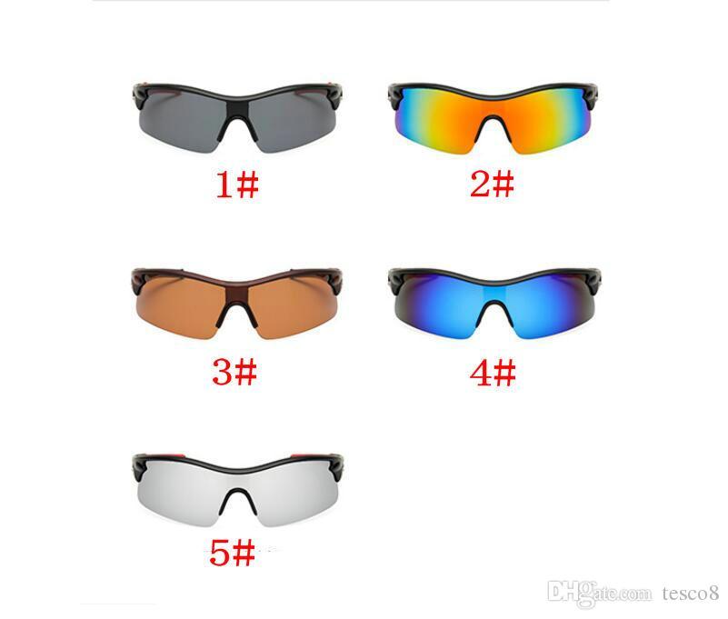 Men Sports Polarized Fashion Sunglasses Siamese Resin Lenses Windproof Goggles Dazzle Colour Sun Glasses Half Frame Eyeglasses Cheap