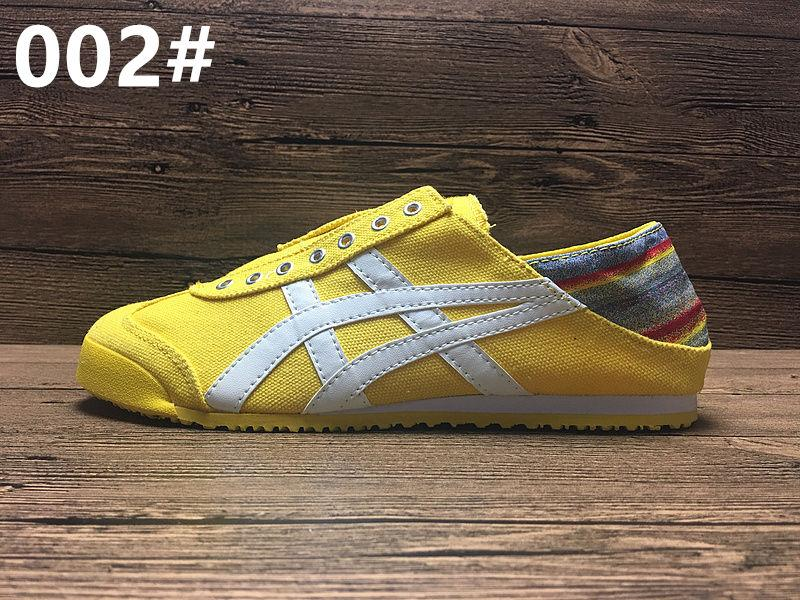 New Colors Asics Tiger Running Shoes Mens And Womens Comfortable Canvas Shoes Athletic Outdoor Sport Sneakers Eur 36-44 Come With Box