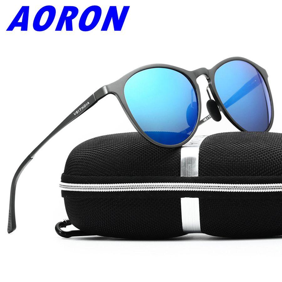 c8b8d6f9f3 Wholesale VEITHDIA Aluminum Magnesium Frame Brand Sunglasses Polarized Lens  Vintage Eyewear Accessories Sun Glasses Mens Color 6625 Mirrored Sunglasses  ...