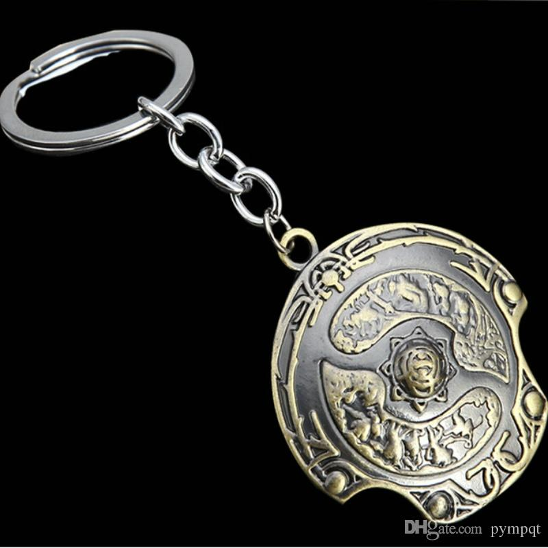 2018 Bronze Children Game Dota2 Roshan Immortal Aegis Of Champions Keychain  Immortality Dota 2 Champion Shield Keychain Buckler Key Chain Ring 20 From  ...