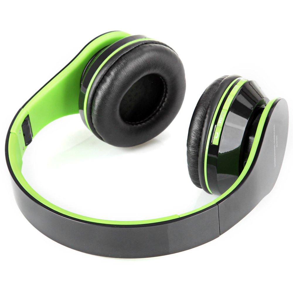 AT-BT809 Wireless Bluetooth Headphones Earphone Headset Support TF Card Hands free Stereo Foldable Headphone for Phone