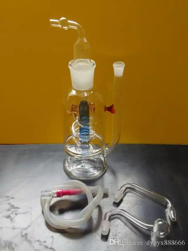 2 слоя гриба емкость фильтрации стеклянный горшок, 16,5 см в ширину и 6 см и весит 105 граммов, Оптовая стеклянный кальян, большой лучше