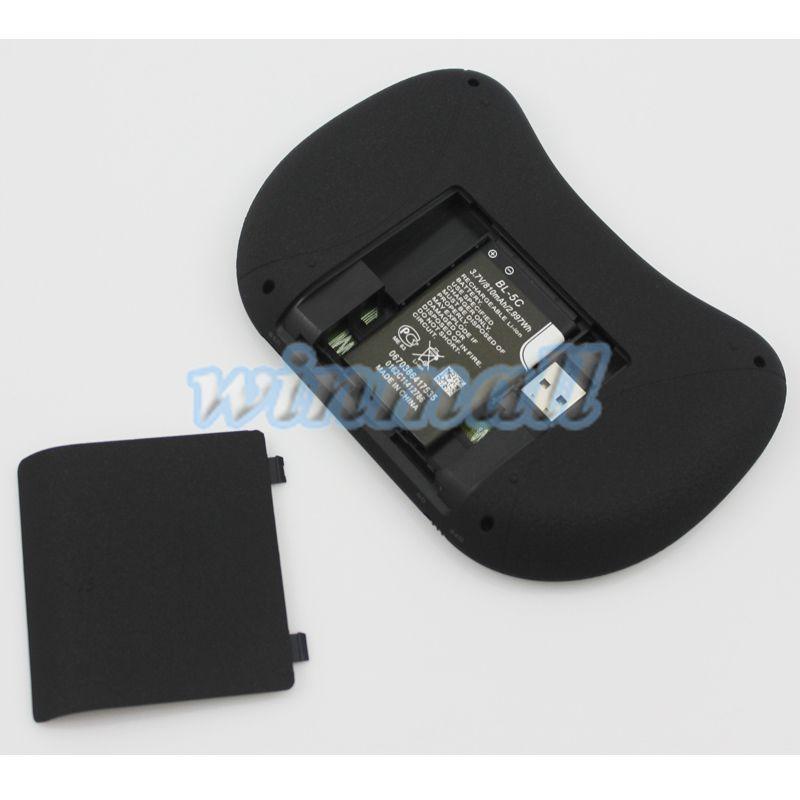 I8 + Fly Air Mouse الخلفية 2.4 جيجا هرتز اللاسلكي البسيطة لوحة التحكم عن بعد لوحة اللمس مع بطارية قابلة للشحن لالروبوت tv box