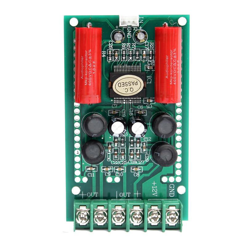 Freeshipping Electric Unit Circuit Board Amplifier Board Module 12V 2x15W  Mini TA2024 HIFI Digital Audio AMP 9 2 x 5 3 x 1 5cm