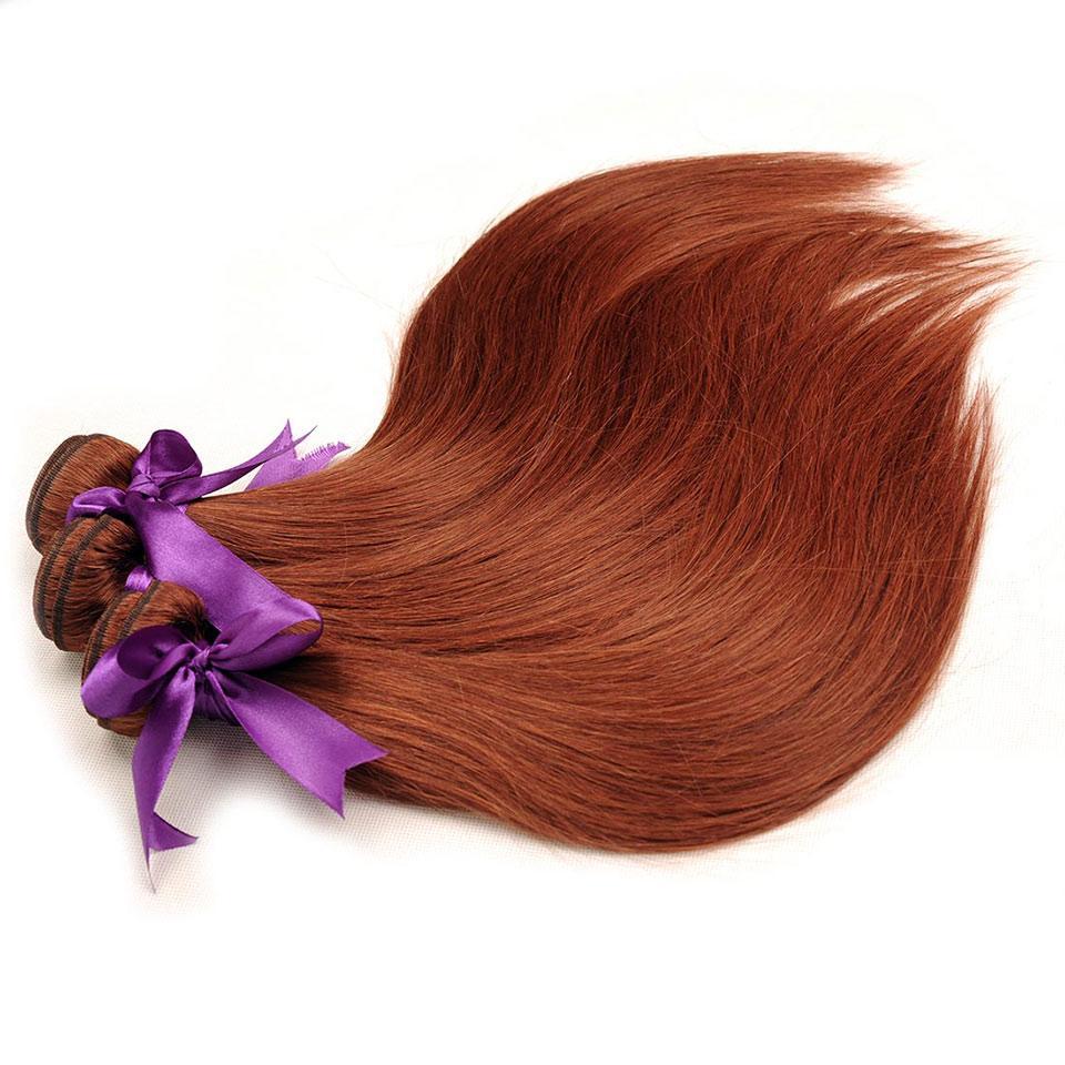 33 # Paquetes de cabello humano de tejido recto peruano de color 12-26 pulgadas La extensión del cabello de trama puede ser Restyle 3 o 4 paquetes