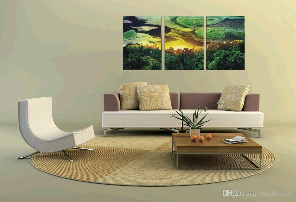 unframed art picture Home decoration Canvas Prints taxi dancer flower tree horse woods waterfall forest rays Lotus writing brush