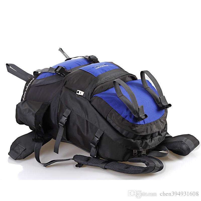 Zaini da trekking da trekking da 50L Borse da trekking grandi capacità Borse da trekking alpinismo Donna Uomo Escursionismo all'aperto Zaini da viaggio da caccia
