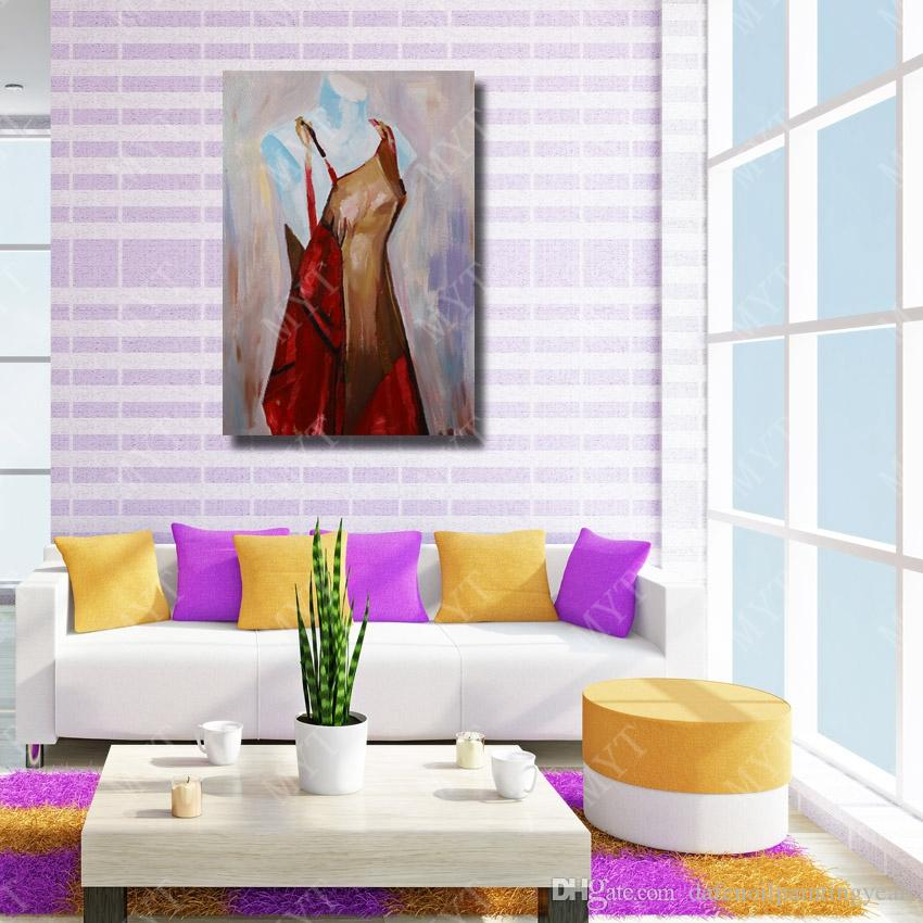 Model Oil Painting Wall Art Decorative Living Room Wall Pictures Cheap Modern Oil Painting On Canvas High Quality