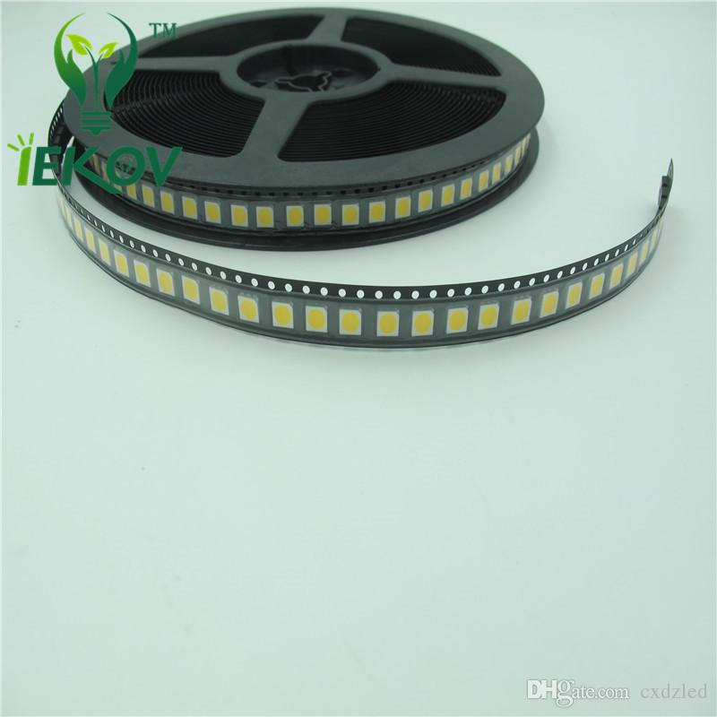 5050 PLCC-6 Yellow LED SMD/SMT 3-CHIPS Ultra Bright Light Emitting Diodes SMD Chip lamp beads For automotive Bike DIY
