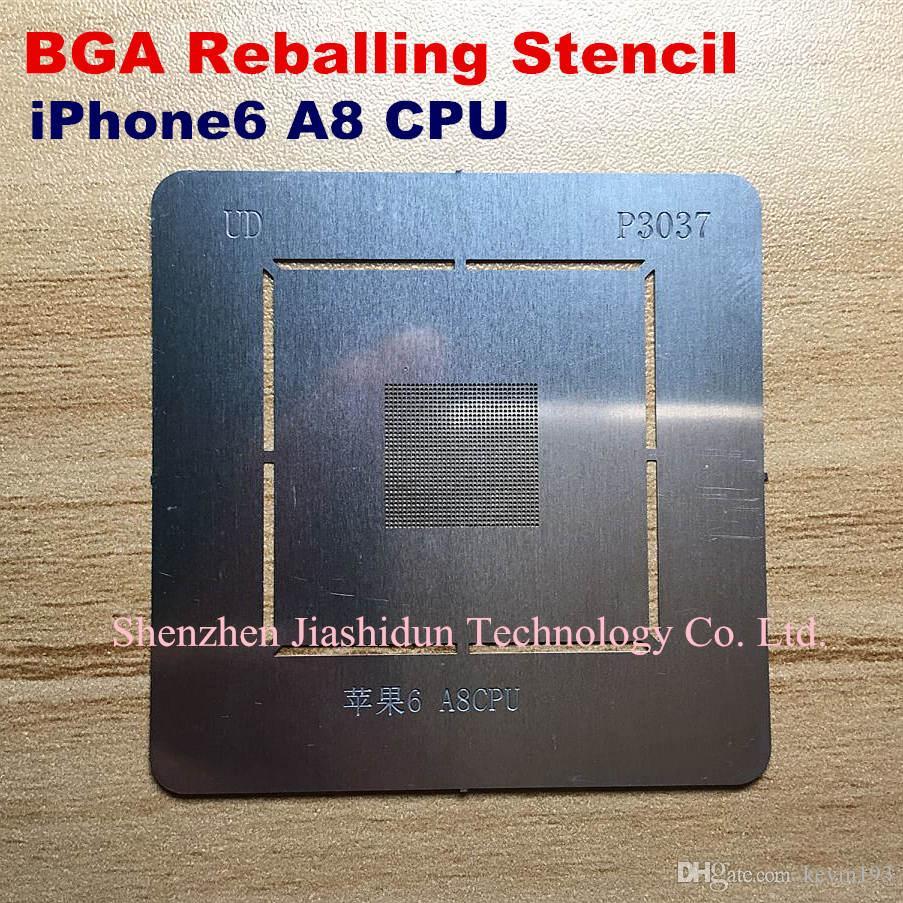 Compre La Plantilla De Bga Reballing Dedica El Kit Para Iphone6 a8 ...