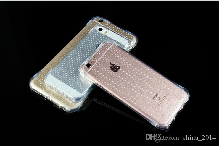 Hot! shockproof TPU Soft Case For iphone X 8 7 7 PLus 6 6S Crystal clear Cellphone Shell Cover hot sale