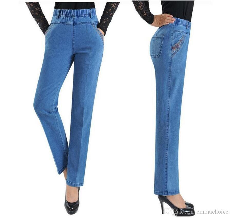 Fashion Womens Jeans Best Sell Winter Jeans Women\'s Trousers Pencil ...