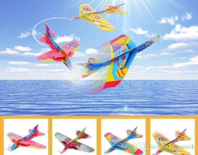 MixColor Super Wings Flying Glider Planes Aeroplane Party Bag Fillers  Childrens Kids Toys Game Prizes Gift Model c006